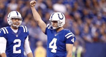 El nuevo récord histórico de Adam Vinatieri en la NFL en el triunfo de los Colts