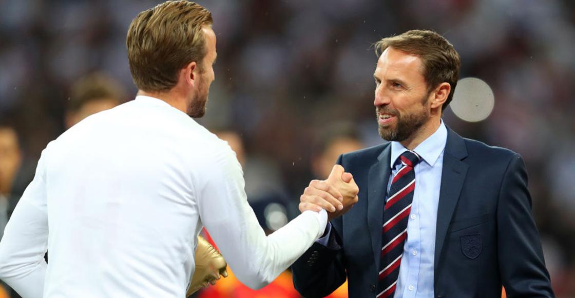 """Gareth Southgate y la afición se rinden ante Kane: """"Es el mejor delantero del mundo"""""""