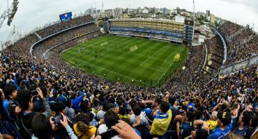 En imágenes: La Bombonera, a reventar en la penúltima práctica de Boca Juniors