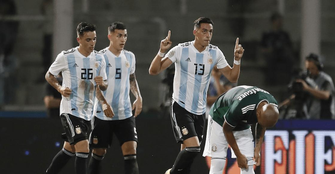 Así vivimos la derrota del Tri frente a Argentina