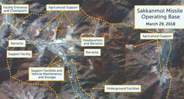 ¡Anda la osa! Descubren bases secretas de almacenamiento de misiles en Corea del Norte