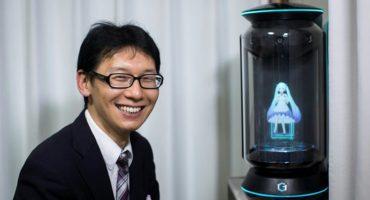 Los declaro marido y holograma: Hombre se casa con un holograma de 16 años