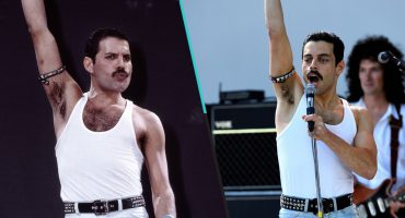 Checa la comparación de Queen en el Live Aid y la imitación de Malek para la película