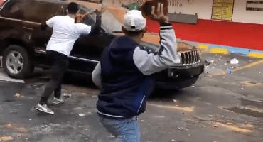 Desalojan el Borrego Viudo y el enfrentamiento se puso violento