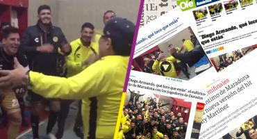 El cántico de Dorados y Maradona que se ha hecho viral en Argentina