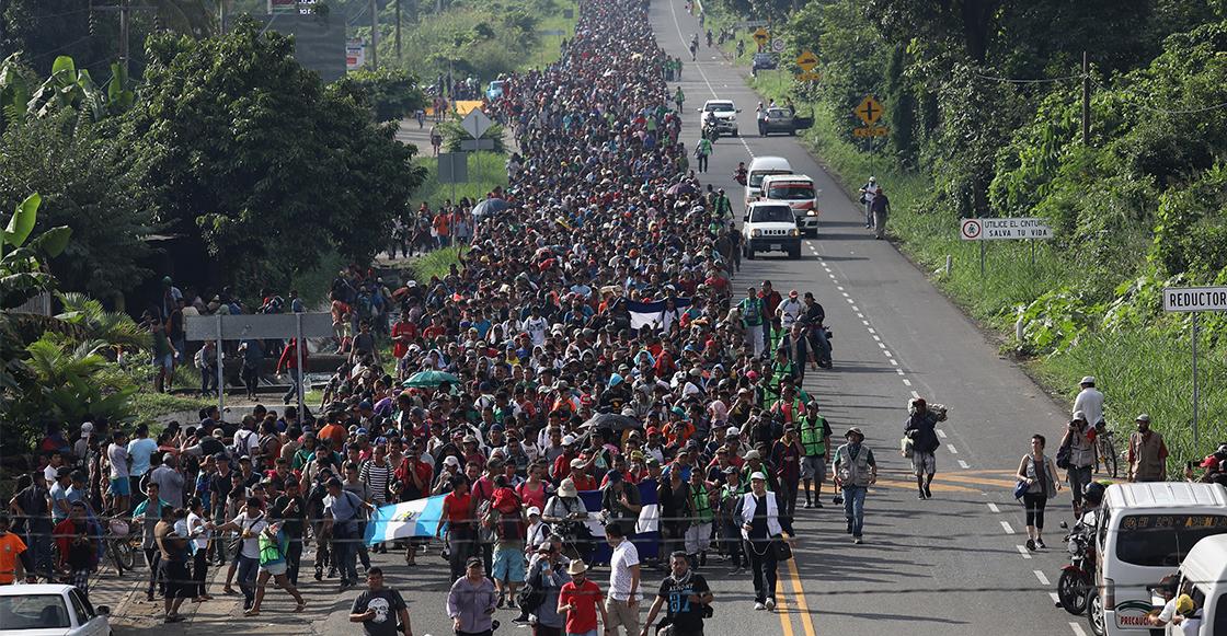 Estados Unidos tiene infiltrados pagados dentro de la caravana migrante: NBC News