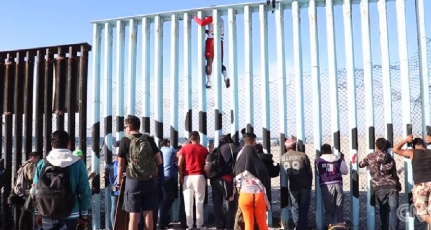 Caravana migrante en Tijuana