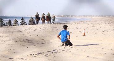 Primeros miembros de caravana migrante ya están en Tijuana, EEUU toma precauciones