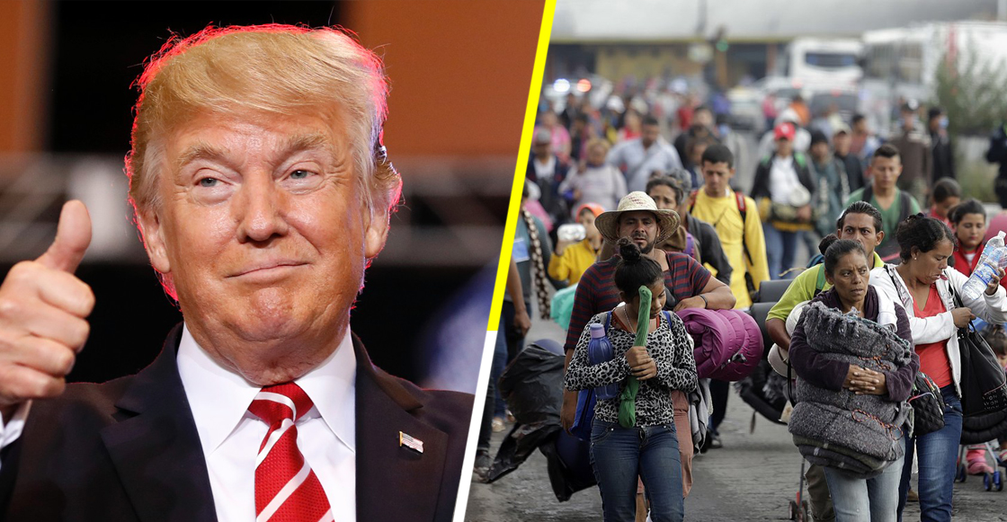 Gobierno de Trump presenta regulación que impedirá asilo a miembros de caravana migrante