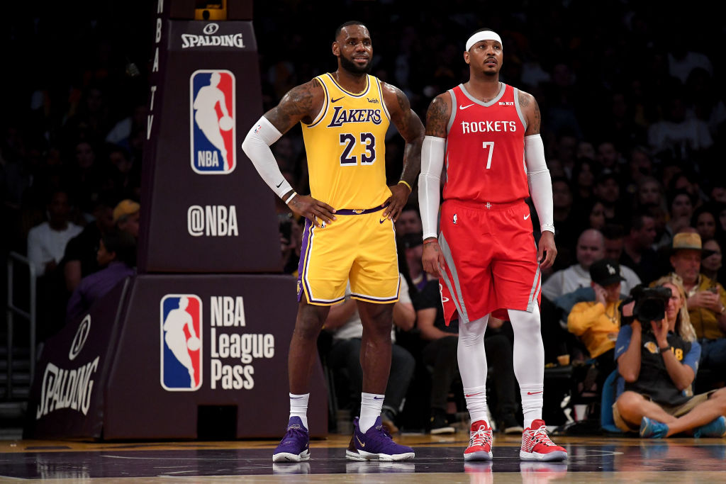 Carmelo Anthony, fuera de los Houston Rockets