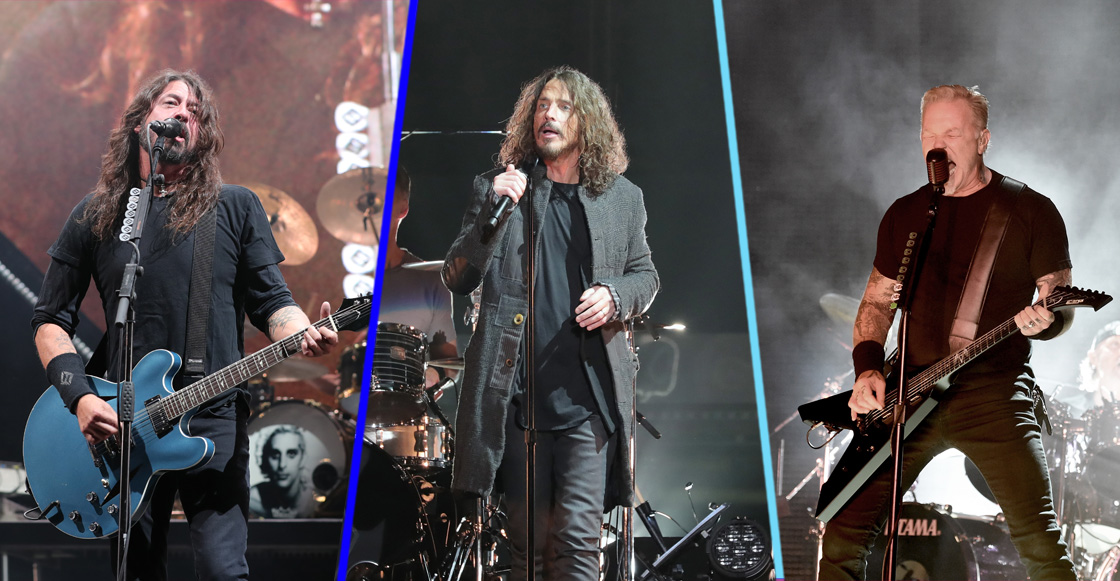 Metallica, Foo Fighters y más en el concierto tributo a Chris Cornell