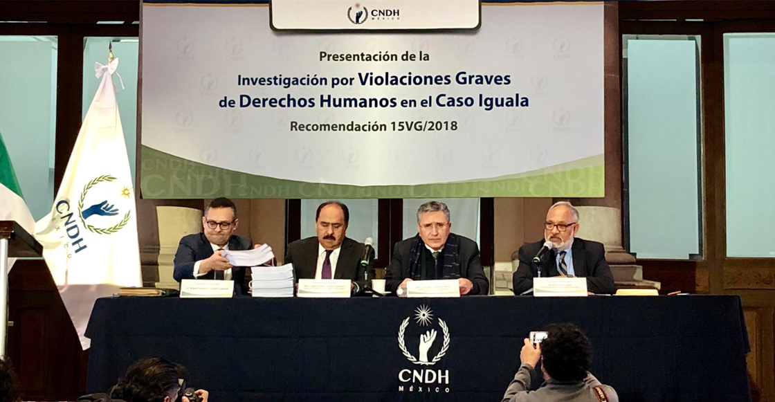 CNDH concluye que al menos 19 cuerpos fueron incinerados en basurero de Cocula