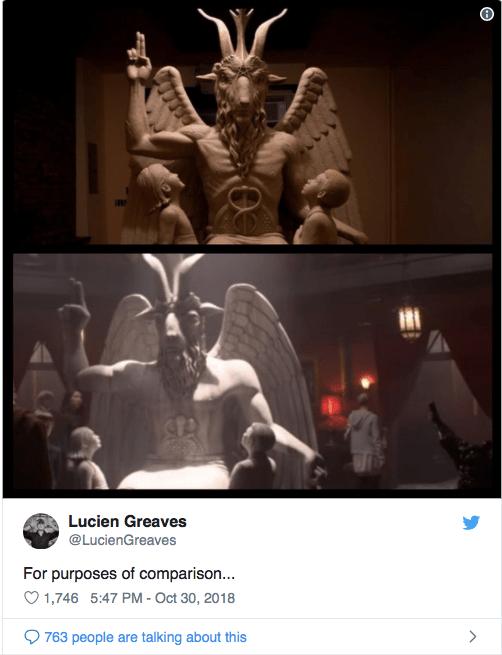 "La secta satánica que demanda a Netflix por ""Las escalofriantes aventuras de Sabrina"""