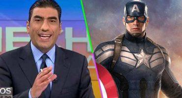 Como cuando TV Azteca confunde una escena de Capitán América con una real ¡LOL!