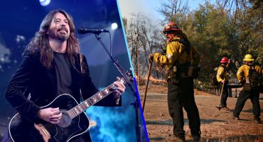Héroes sin capa: Dave Grohl preparó un asado BBQ para bomberos de California