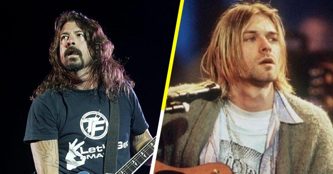 Sniff: Dave Grohl habla sobre la enseñanza que le dejó la muerte de Kurt Cobain