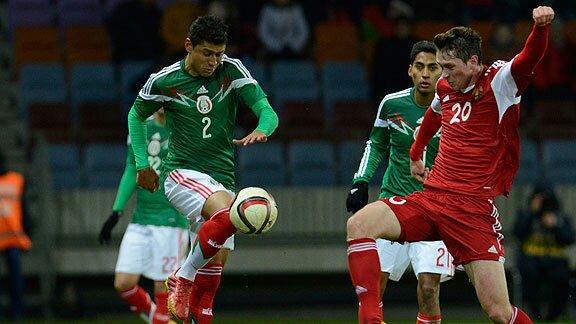! 'Cata' Domínguez reemplaza a Jesús Angulo en la Selección Mexicana