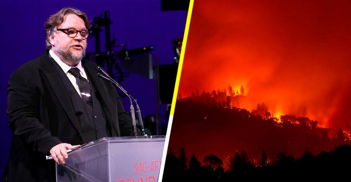 Guillermo del Toro narra sus experiencias durante el incendio Woolsey