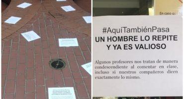 #AquíTambiénPasa: Alumnas del Colegio México denuncian acoso sexual
