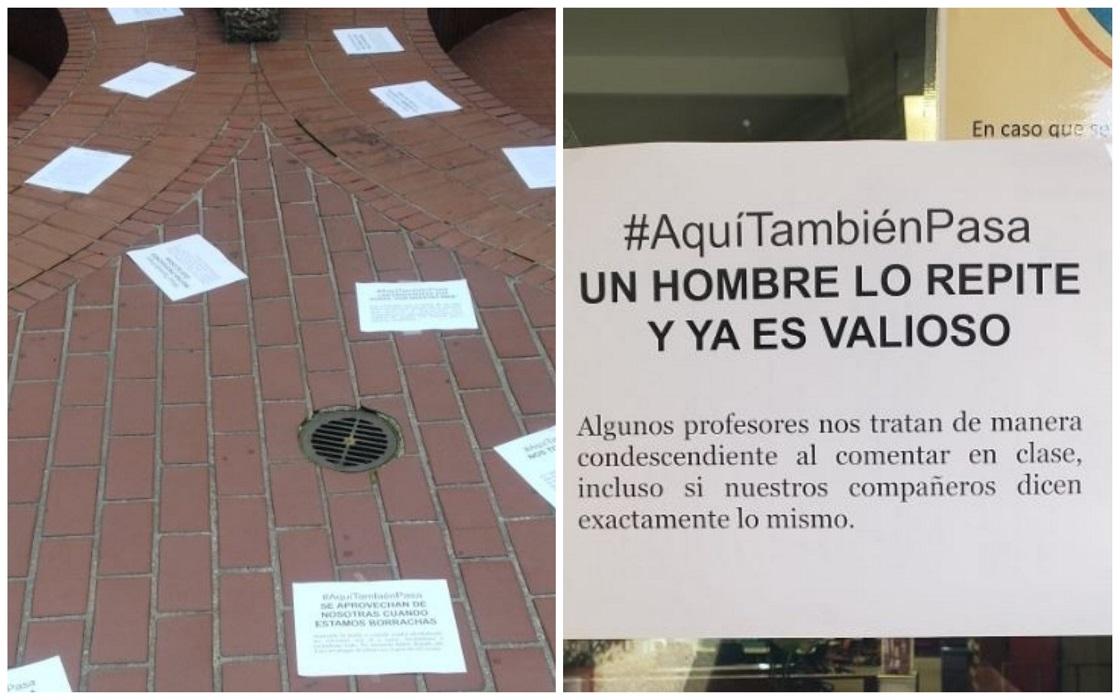 Denuncias de acoso sexual en el Colegio México