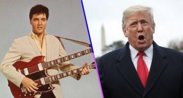 Díganle 'El Pipiripau': Donald Trump dice que se parece a Elvis Presley