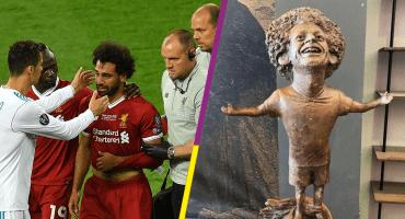 Develan una estatua de Salah en Egipto ¡Y es espantosamente memeable!
