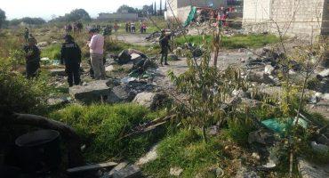 Otra explosión de pirotécnia en Tultepec deja un saldo de dos muertos