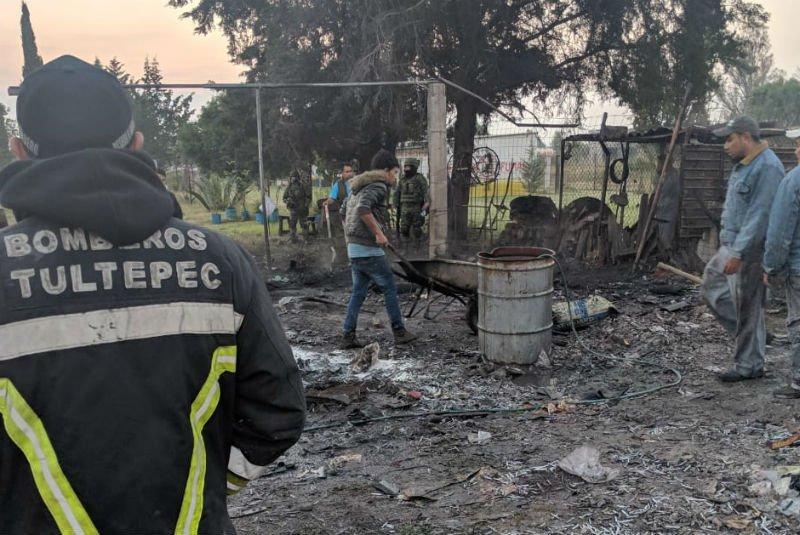 Explosiones en Tultepec