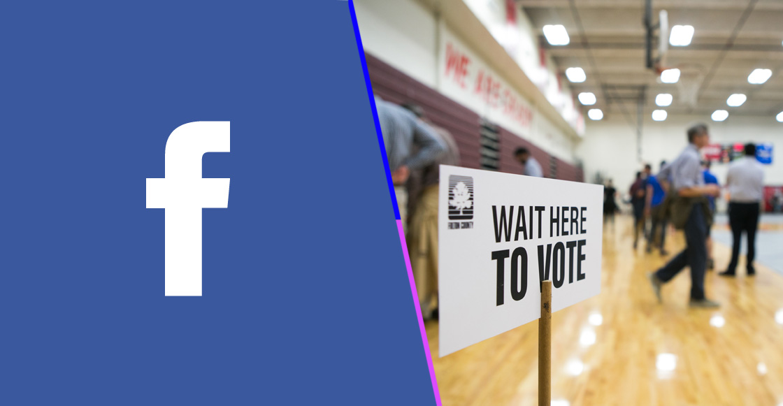 Día de elecciones: Facebook elimina cuentas que podrían estar relacionadas con Rusia