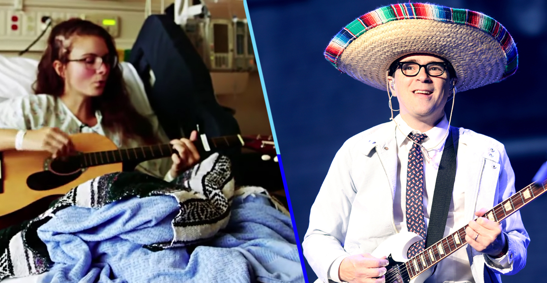 """Avances de la ciencia presentan: Fan de Weezer canta """"Island in The Sun"""" mientras le quitan tumor cerebral"""