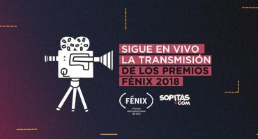 ¡Sigue por acá el streaming oficial de los Premios Fénix 2018!