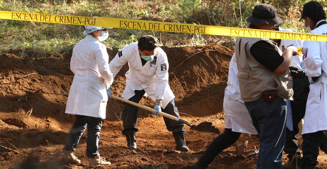 En 11 años, fueron encontradas mil 978 fosas clandestinas en México