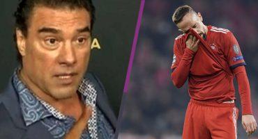 ¿Yáñez, eres tú? Ribery habría cacheteado a un comentarista tras derrota contra el Dortmund