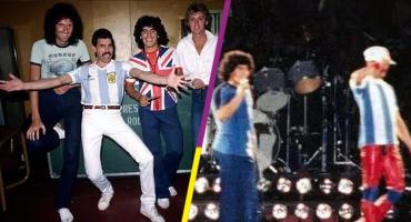 El día en que Diego Armando Maradona conoció a Freddie Mercury