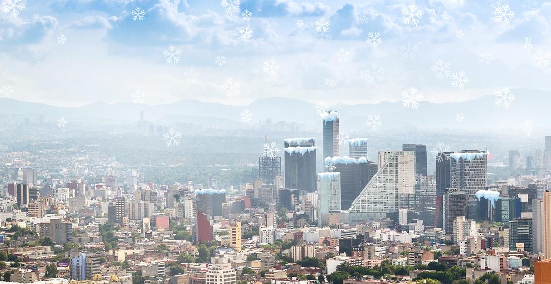 ¡Vuelvan a sacar las chamarras! Se esperan hasta 0º para mañana en algunas zonas de la Ciudad de México