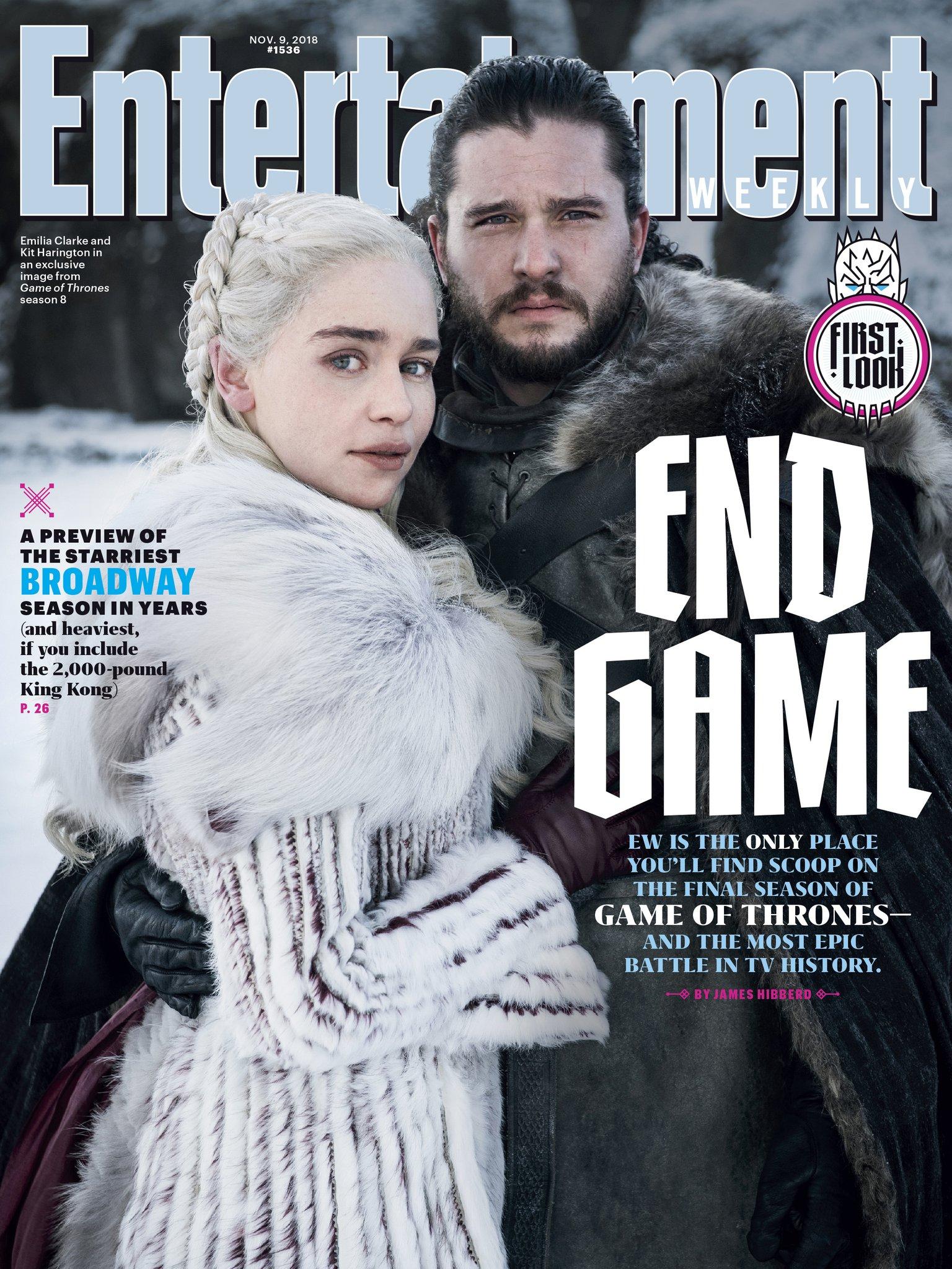 ¡Ya falta menos! Esta es la primera foto de Game of Thrones