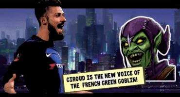 Giroud será la voz del Duende Verde en la siguiente película de Spider-Man