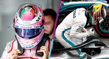 Mala tarde para Checo Pérez en el circuito de Interlagos