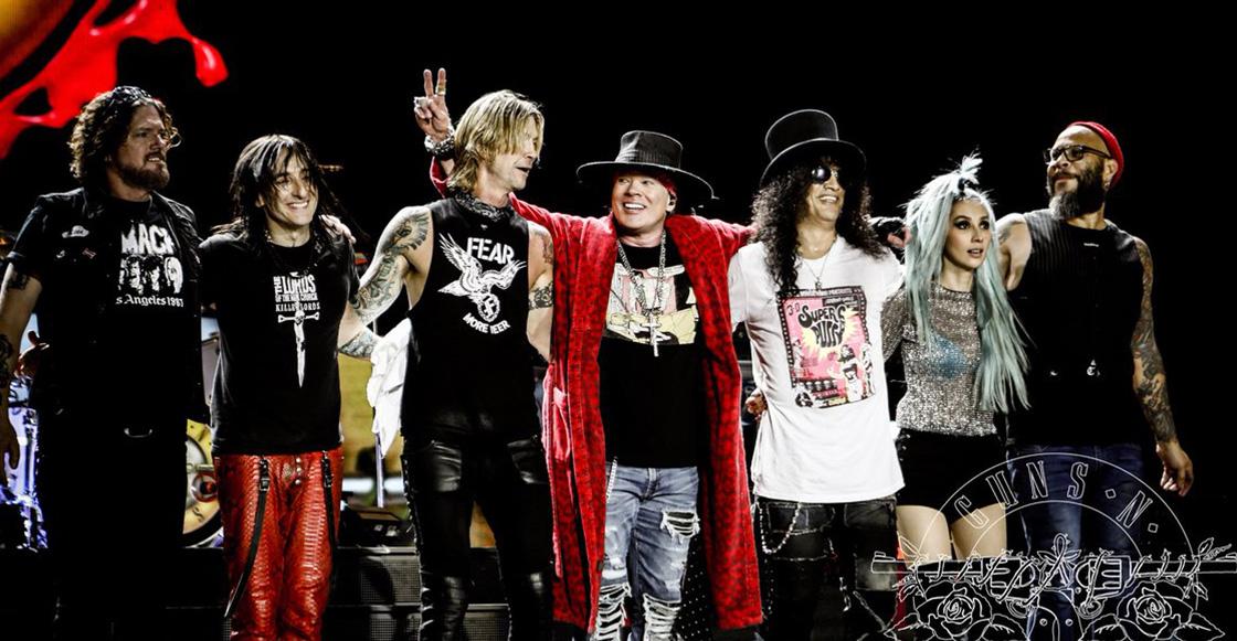 Cine        ¡Integrantes de Guns N' Roses vieron 'Bohemian Rhapsody' en un cine mexicano