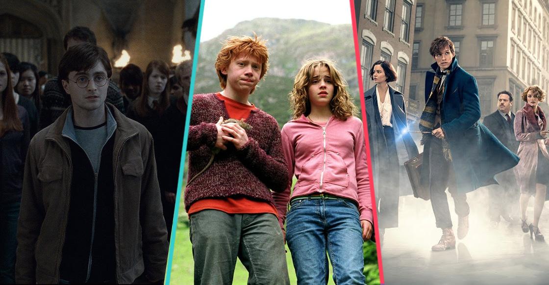 Ranking de las películas dentro del universo de Harry Potter