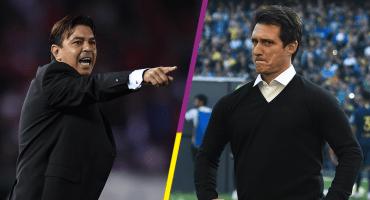 Gallardo vs Schelotto: ¿Qué técnico manda en el clásico entre River y Boca?