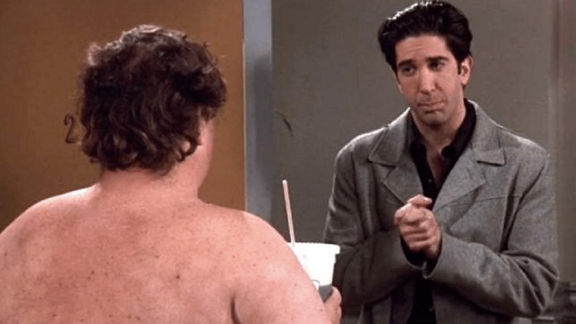 Friends – Identidad del sujeto desnudo