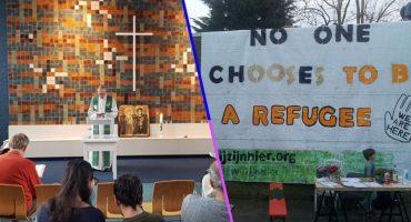 Esta iglesia lleva más de un mes dando misa para evitar la deportación de una familia