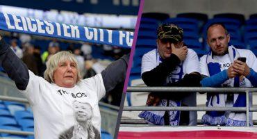 En imágenes: así fue el homenaje del Leicester a su Presidente luego de su muerte