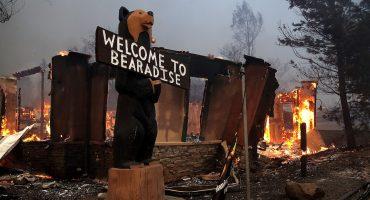 Un pueblo de 30 mil personas desapareció tras el incendio de California
