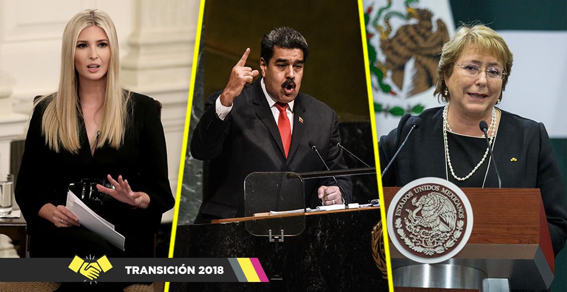 Ivanka Trump, Maduro, Bachelet, etc... Acá te dejamos todos los invitados a la toma de protesta de AMLO