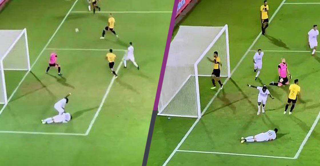 El karma le regaló un gol a este futbolista por cuidar a su compañero herido