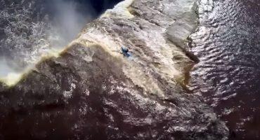 Microinfarto: ¡Cayó por una cascada de más de 30 metros y sobrevivió!