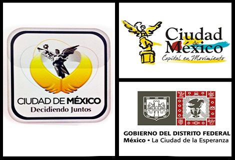 logos de la ciudad de méxico a lo largo de los años