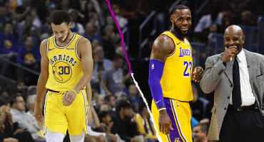 Warriors en picada y sin Curry y Lakers toman vuelo con LeBron James